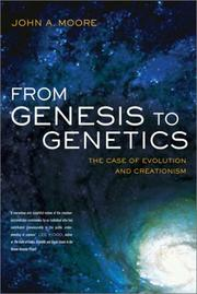 Cover of: From Genesis to Genetics | John A. Moore