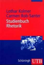 Cover of: Studienbuch Rhetorik