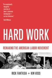 Cover of: Hard Work | Rick Fantasia