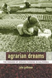 Cover of: Agrarian Dreams | Julie Guthman