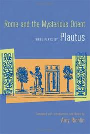 Cover of: Rome and the mysterious Orient | Titus Maccius Plautus