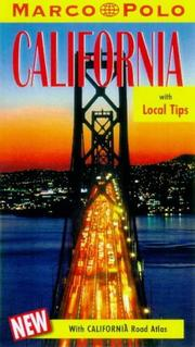 Cover of: Marco Polo California Travel Guide (Marco Polo Travel Guides)