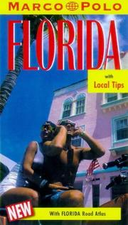Cover of: Marco Polo Florida Travel Guide (Marco Polo Travel Guides)