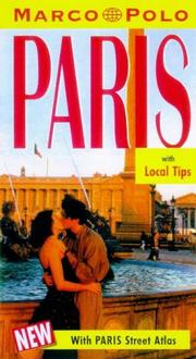 Cover of: Marco Polo Paris Travel Guide 3ED (Marco Polo Travel Guides)
