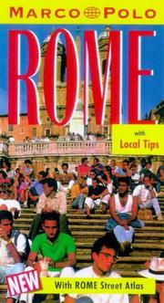Cover of: Marco Polo Rome (Marco Polo Travel Guides)