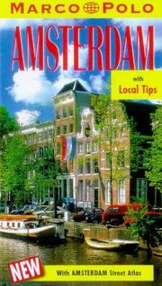 Cover of: Marco Polo Amsterdam Travel Guide (Marco Polo Travel Guides)