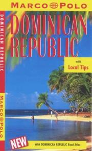 Cover of: Marco Polo Dominican Republic (Marco Polo Travel Guides)