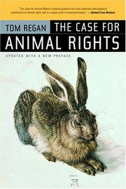 Cover of: The case for animal rights