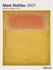 Cover of: Rothko 2007 Calendar |