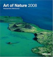 Cover of: Art of Nature 2008 Poster Calendar |