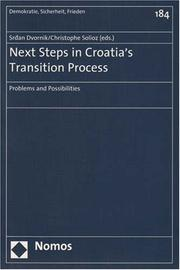 Cover of: Next Steps in Croatia