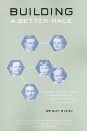 Cover of: Building a Better Race | Wendy Kline