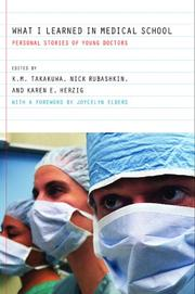 Cover of: What I Learned in Medical School |