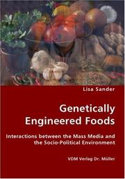 Cover of: Genetically Engineered Foods | Lisa Sander
