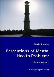 Cover of: Perceptions of Mental Health Problems | Nada Eltaiba