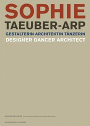 Cover of: Sophie Taeuber-Arp |