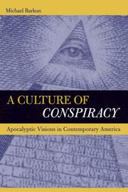Cover of: A Culture of Conspiracy
