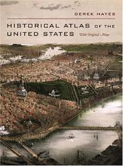 Cover of: Historical atlas of the United States