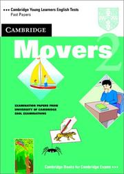 Cover of: Cambridge Movers 2 Student's Book