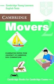Cover of: Cambridge Movers 2 Cassette