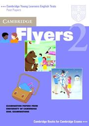 Cover of: Cambridge Flyers 2 Student's Book