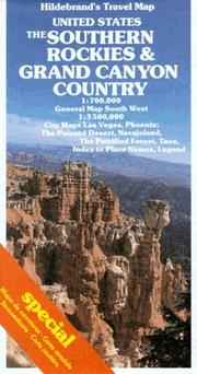 Cover of: Southern Rockies and Grand Canyon Country Map (USA & Canada)