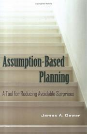 Cover of: Assumption-Based Planning
