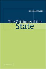 Cover of: The Critique of the State