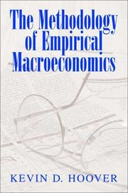 Cover of: The Methodology of Empirical Macroeconomics