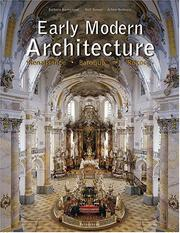 Cover of: Early Modern Architecture