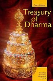 Cover of: Treasury of Dharma | Geshe Rabten