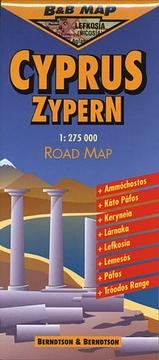 Cover of: Berndtson & Berndtson Cyprus Map (B&B Road Maps)