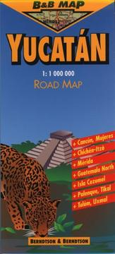 Cover of: Yucatan Road Map