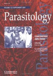 Cover of: Concomitant Infections (Parasitology) |