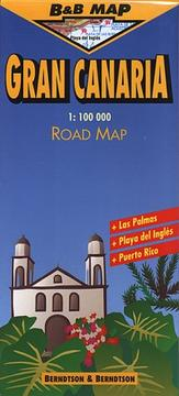 Cover of: Berndtson & Berndtson Gran Canaria Map (B&B Road Maps)