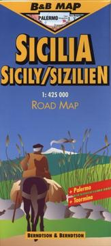 Cover of: Berndtson & Berndtson  Sicily / Sicilia Map (B&B Road Maps)