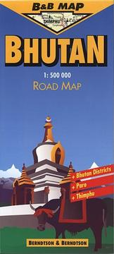 Cover of: Bhutan (B&B Road Maps)