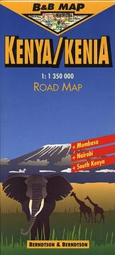 Cover of: Kenya (B&B Road Maps)