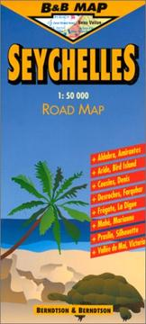 Cover of: Berndtson & Berndtson Seychelles Map (B&B Road Maps)