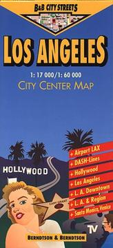 Cover of: Los Angeles City Streets | Berndtson