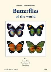 Cover of: Butterflies of the World by Jacques Hecq
