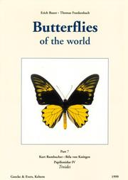 Cover of: Butterflies of the World | Kurt Rumbucher