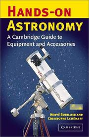 Cover of: Hands-On Astronomy | Hervé Burillier, Christophe Lehenaff