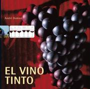 Cover of: El Vino Tinto / Red Wine