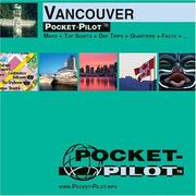 Cover of: Vancouver Pocket Pilot Map