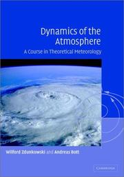 Cover of: Dynamics of the atmosphere by