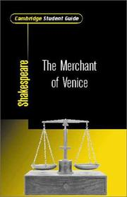 Cover of: Cambridge Student Guide to The Merchant of Venice (Cambridge Student Guides)