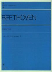 Cover of: Beethoven Sonaten 1