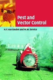 Cover of: Pest and vector control |