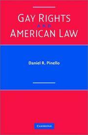 Cover of: Gay Rights and American Law